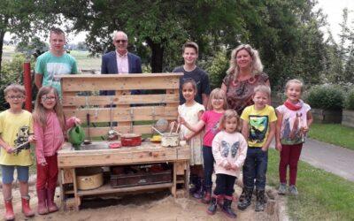 Matschküche für Kindergarten