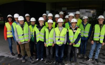 Besichtigung Zementwerk 07.10.2019