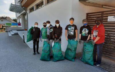 Müll-Sammelaktion